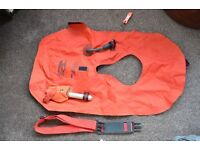 Life Jacket - with gas cannister and whistle