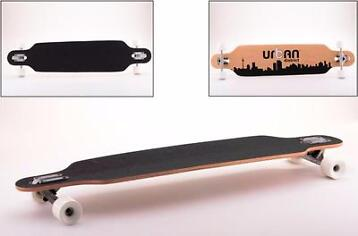 LONGBOARD URBAN DISTRICT 105CM, ABEC-7, 65 X 51MM SKATEBOARD