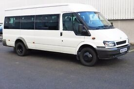 Ford Transit 2.4 TDCi 16 Seater Minibus with New 1 Years MOT