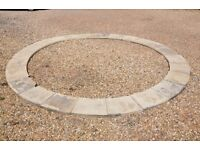 Paved Circle 4.5m diameter - Garden / water feature