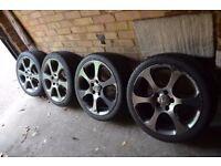 Honda Civic MK8 18 alloys with tyres