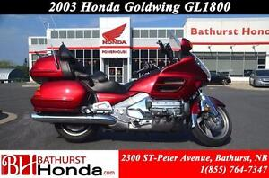 2003 Honda Gold Wing 1800 WOW!! Great Value! 1832cc! Cruise Cont