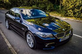 BMW 520d M Sport 4dr; f10 facelift;NEARLY NEW, OVER 2 YEARS MANUFACTURER WARRANTY