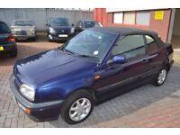 VW GOLF MK 3 CABRIO 1997 CLASSIC 1.8 MANUAL