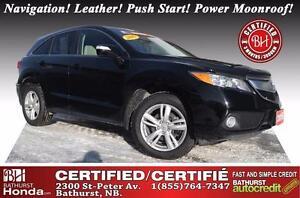 2015 Acura RDX Tech Pkg AWD V6! AWD! Navigation! Leather! Push S