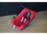 Maxi Cosi Pebble Car Seat (Red)