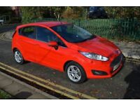 6MTHS GOLD WARRANTY,11 MTHS MOT,ALLOYS,HPI CLR, 2014 FORD FIESTA 1.6ZETEC POWERSHIFT,PETROL,AUTO,RED
