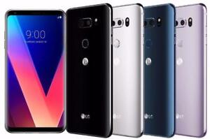 LG V30/+ 128Gb Cloud Silver / Moroccan Blue / Lavender Violet  - Factory Unlocked