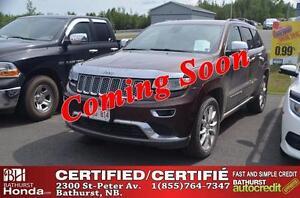 2014 Jeep Grand Cherokee Summit Certified! V8, 5.7L - 360hp! Ven