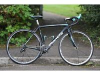 Bianchi Road bike B4P Sempre 2014- black carbon medium frame 53cm