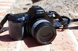 Minolta Dynax 3xi 35mm SLR plus case Kellyville The Hills District Preview