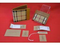 Burberry Horseferry Check International Bifold Wallet & Card Case £230