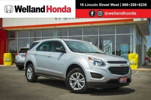 2017 Chevrolet Equinox LS | One Owner | Low KMS