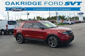 2014 Ford Explorer SPORT 4WD LEATHER MOONROOF NAVIGATION