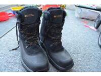 MOUNTAIN WAREHOUSE - ISODRY EXTREME - Off-Piste Mens Snowboots - Charcoal - Size UK 10 (RRP £99.99)