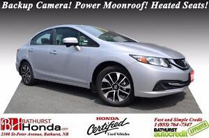 2015 Honda Civic Sedan EX LIKE NEW!!! LOW KM's!! Push Button Sta