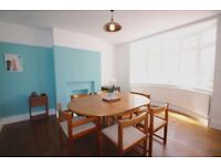 Large 6 Person Dining Table and 6 Chairs