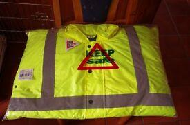 Hi Vis Site Jacket, size Large.