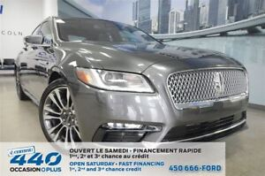 2017 Lincoln Continental Reserve | 3.0L TURBO, AWD, CUIR, TOIT P