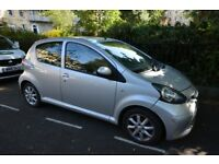 Toyota Aygo - Silver, 58 Plate, 12 Months MOT, ₤20 Tax, Full service history, Perfect first car!