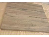 Kitchen worktop laminate chopping block effect
