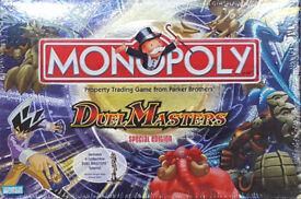 2004 Parker Games Monopoly Duel Masters Special Edition