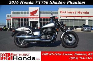2016 Honda VT750 Shadow Phantom Impressive power over a broad rp
