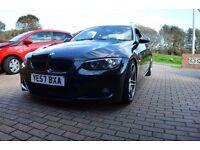BMW 325i M sport black 3.0 Litre petrol 2007 manual 62,000 miles