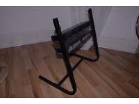Rack unit for storing rack mountable audio equipment