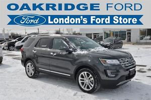 2016 Ford Explorer LIMITED LEATHER SUNROOF ACTIVE PARK ASSIST TR