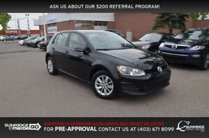 2016 Volkswagen Golf 1.8 TSI Trendline, HEATED SEATS, BACKUP CAM
