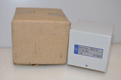 Old New Stock Qk Quarz-osc Microwave Rf Quartz Oscillator 16.384 Mhz Radio