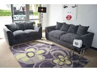 **FREE DELIVERY 4 UK**DYLAN 3 & 2 SEATER SOFA **10% OFF** 4 LONDON & SURROUNDING POSTCODES