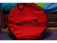 Roval padded double wheel bag 700c/mtb