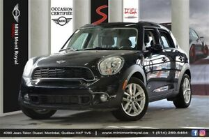 2014 MINI Cooper Countryman Cooper S + ALL 4 + TOIT PANORAMIQUE