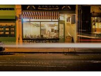 Experienced Weekend Waitress Required for busy North London Restaurant