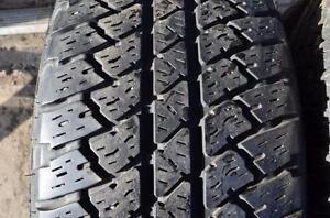 255 70 18 Set of 4 tires bridge stone.