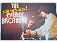 Everly brothers double LP.