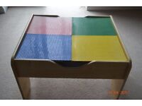Double sided play table - Lego & Scene