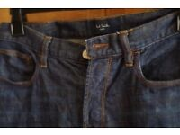 Paul Smith Denim Jeans size 32 waist. Great condition. Barely worn.