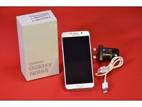 Samsung Galaxy Note 5 64GB in White Pearl Any Sim £440