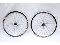 CERO AR30 700C ALLOY CLINCHER ROAD RACING BIKE WHEELS WHEELSET. MINT & NEVER USED. COST £380.