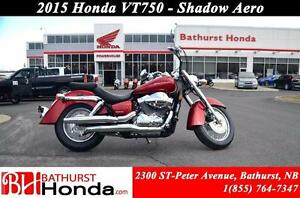 2015 Honda VT750 Shadow AERO