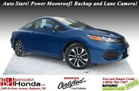 2015 Honda Civic Coupe EX LIKE NEW!!!! Auto Start! Power Moonroo
