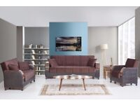 ***BRAND NEW TURKISH SOFA BED WITH STORAGE ON SALE***SAME/NEXT DAY DELIVERY