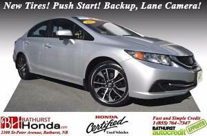 2014 Honda Civic Sedan EX Honda Certified! New Tires! Push Start
