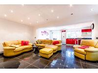 Premium leather sofa suite (3 seater, 2 seater and recliner)