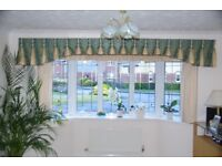 Curtains and Valance for Bay windows - complete