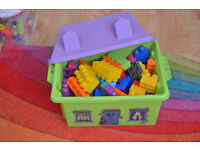 Box of blocks,multicolour 5£ Rugby