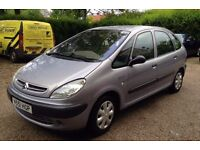 Citroen Xsara Picasso SX 1.8 Litre Estate with 12 months MOT in good condition.Extremely spacious.